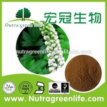 Triterpene Glycosides2.5~8 % Black Cohosh P.E. CAS NO: 8047-15-2