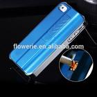 FL484 For apple iphone 5s lighter case,for iphone 5s 4s metal cigarette lighter phone case