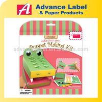 DIY Kids toy Paper craft Make Your Own Animal Crocodile Paper Sun Visor hat
