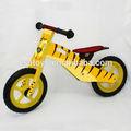 2014 nueva bicicleta de madera para los niños, Diseño lindo de madera de juguete de la bicicleta para los niños, Caliente la venta de bicicletas para los niños W16C076