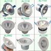 china manufacturer AL1190 aluminium led downlight accessories(NO chip)