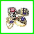 baratos 2014 moda de buena calidad de graduación de la universidad de anillos para las mujeres