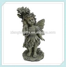 polyresin decorative resin urns fairy angel,resin flower fairy