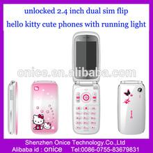 unlocked cheap stylish mobile phone W777 whatsapp flip phone with multi languages