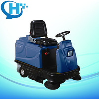 CB-2006 1430W riding type vacuum road sweeper truck