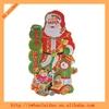 2014 3D window christmas santa claus sticker