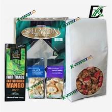 stand up bag for food/snack bag/snack food bag