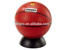 Basketball shape money box/Sprots piggy bank/NBA money box