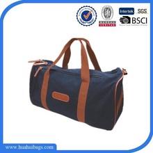 2014 Fashion Navy Foldable Canvas Travelling Bag