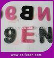 Velcro carta/ pontos de velcro com logotipo bonito