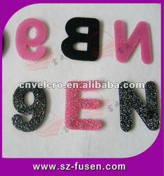 Velcro Letter /Velcro Dots with Pretty Logo