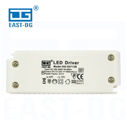 Energy saving 16W 600mA output constant current led power driver for led ceiling light