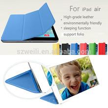 New Smart Cover For iPad mini PU Leather Premium Magnetic Smart Cover+Hard Back Case For iPad Mini 1 2 Retina Display Case