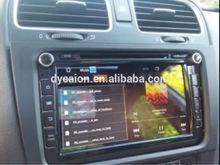 Autoradios 2 DIN GPS STEREO RADIO VW/car radio tv ipod mp3/Car radio with cd USB aux