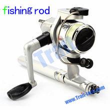 Wholesale Mini Aluminum Fibre Glass Retractable Pen Fishing Rod with Reel