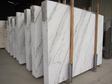 Cheap Chinese Carrara white marble slab and tile price