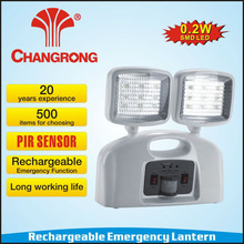 Chinese plastic microwave sensor rechargeable emergency channel light