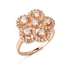 18k gold filled engagement ady design gold sapphire ring Sz5-Sz9