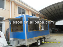 Hot Sale Yieson Factory Direct Mobile Kitchen Truck mobile food van Australia/Mobile Kitchen Truck Food Van/food van trailer