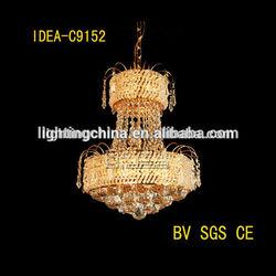 high quality home lighting cristal chandelier large pendant lights