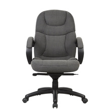 HC-A029H high back gray office chair fabric material