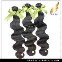 Unprocessed virgin malaysian import human hair