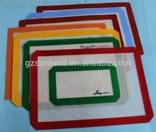 transparent silicone fiberglass baking mat for pyramid pan