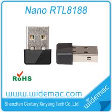 Cheapest 150Mbps Wireless USB Lan Adapter / Mini Realtek RTL8188eus WiFi USB Lan Adapter
