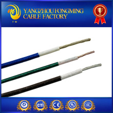 200C AGRP electric flexible WIRE tinned copper coated silicone and fiberglass braid wire and cable made in china