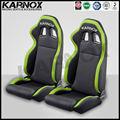 Pvc ajustável assentos corridas, corrida de carro assento de corrida assentosdecarro