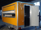 Hot Sale food vending carts/Mobile Kitchen Truck Food Van/food van trailer