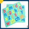 English alphabet design wholesale letter fridge magnet