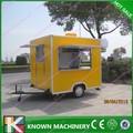 Unique estrutura móvel trailer alimentos/bebida carrinho de venda/caminhão lanche