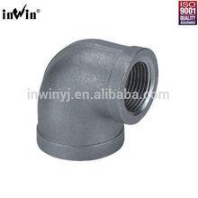 """ANSI B16.3 Elbow 90 Reducing Pipe Fittings 1/2""""*3/8"""""""