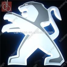 customize famous illuminous car logo/ new acrylic car logo