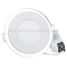 high quality 240v 2835 smd glass led home decorative panel lighting
