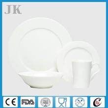 Wholesale cheap white dinnerware set fine royal bone china