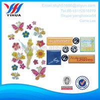 eco-friendly crystal flexible 3d epoxy sticker