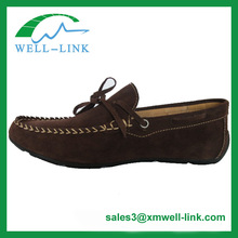 Mens Casual Cow Suede driving loafers