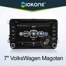2 din 7 inch vw passat b6 dvd navigation with DVD, GPS, Radio, Bluetooth, Ipod, SD, USB, Steering wheel control