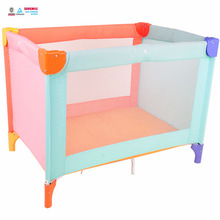 cheap colorful folding baby crib, multifunction infant baby bed, infant cot playpen