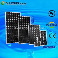 Bluesun good price high efficiency 300w monocrystalline solar panel and solar module with CE TUV UL