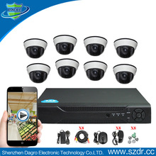 Kit-DR807 H.264 4CH DVR Combo DIY CCTV Camera dvr kit DIY security kit