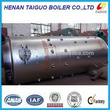 Vertical coal or rice husk or wood fired water Boiler