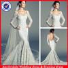 SA10333 Long sleeve ladies bridal wedding dress online shop