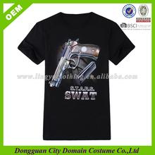 EXW price t-shirt printing , custom mans 3D t shirt , individual printing tees (lvt08000147)