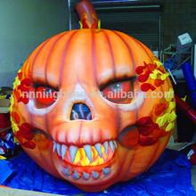 NB Horrible Lifelike inflatable Halloween Pumpkin for festival
