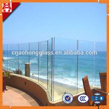 Frameless Tempered Glass Pool Fence Panel price