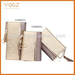 2014 Handmade brand ladies women leather wallet