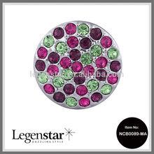Legenstar 2014 20mm wholesale snap metal press button jewelry NCB0089-MA